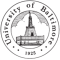 120px university of baltimore seal