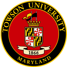 220px towson university seal
