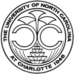 150px unc charlotte seal